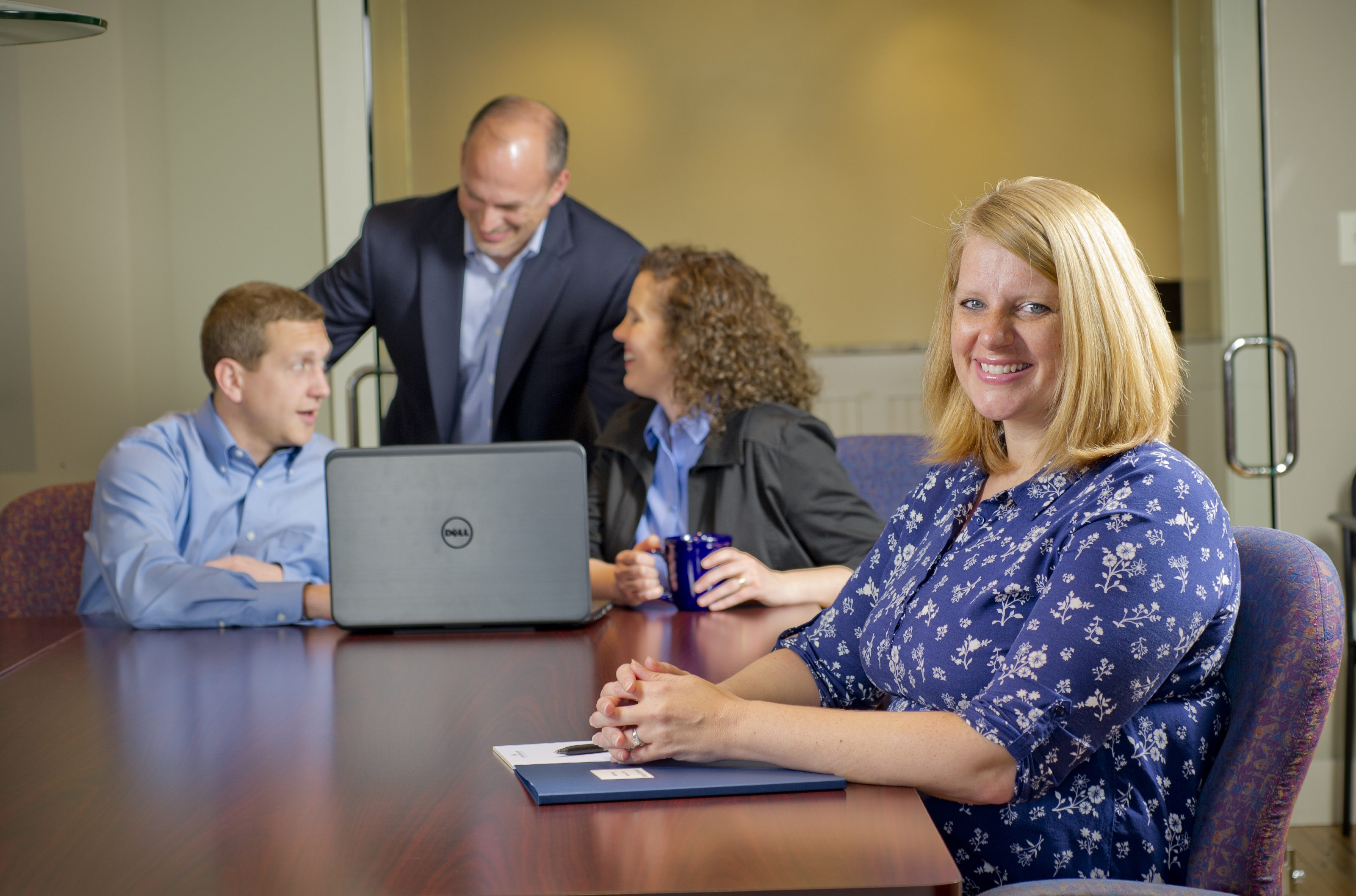 Our team works together to serve clients well.